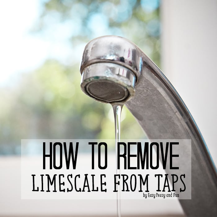 How to Remove Limescale from Taps