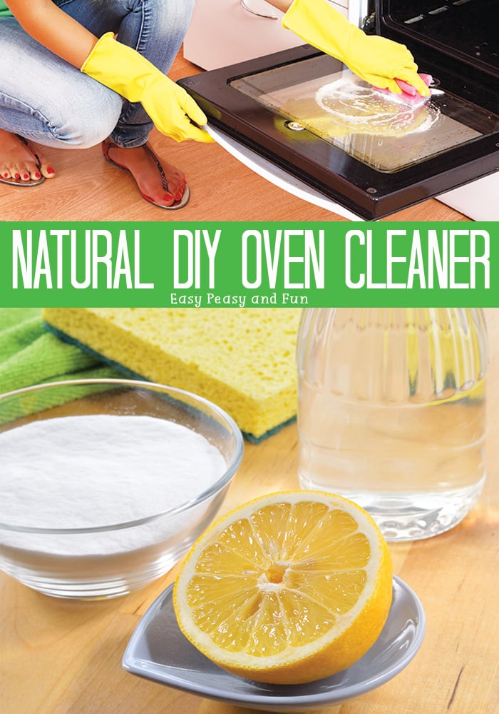 Natural Homemade Oven Cleaner