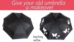Give Your Old Umbrella a New Look