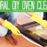 Natural Homemade Oven Cleaner That Works