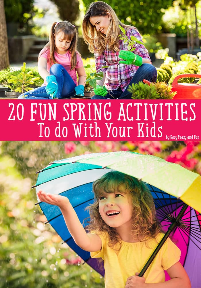 Spring Activities for Kids - Lots of Fun Ideas