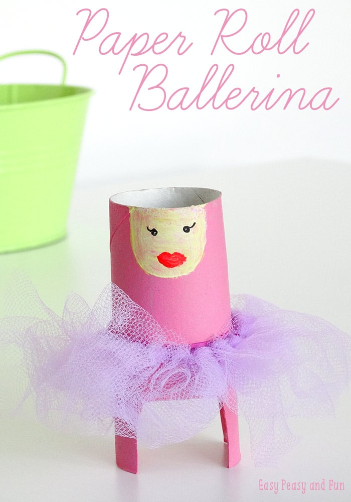 Toilet Paper Roll Ballerina