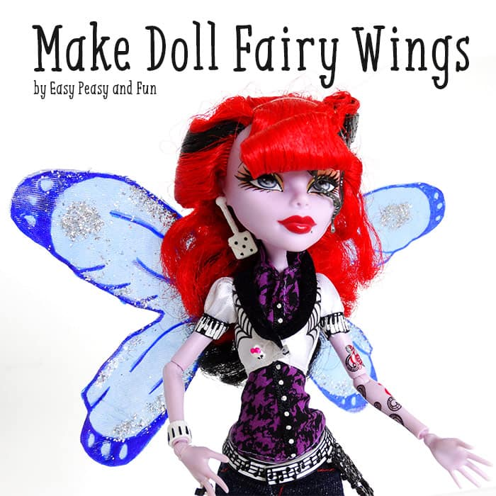 Tutorial - How to Make Doll Fairy Wings