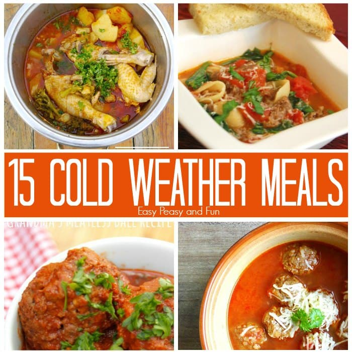 15 Cold Weather Meals