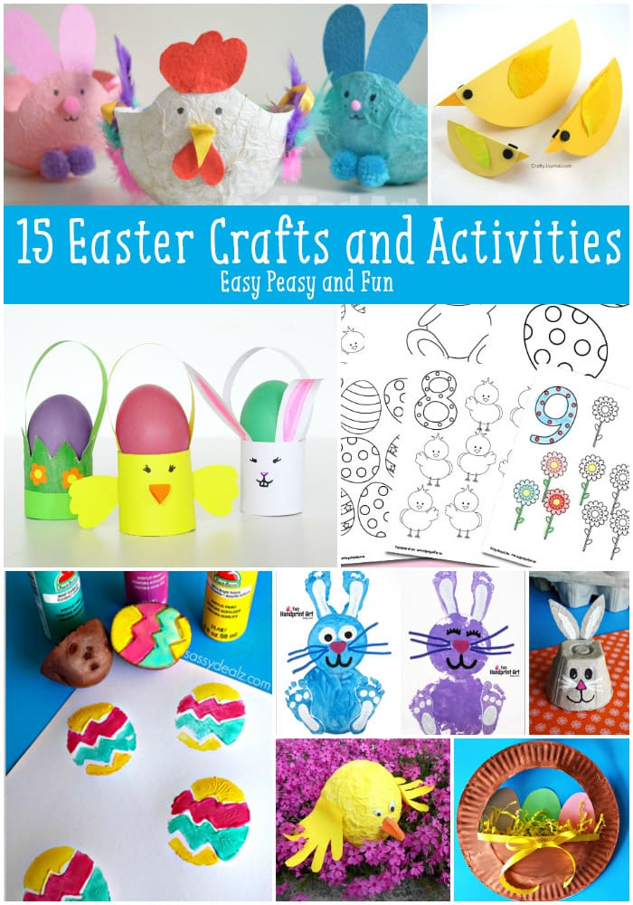 15 Easter Crafts and Activities for Kids