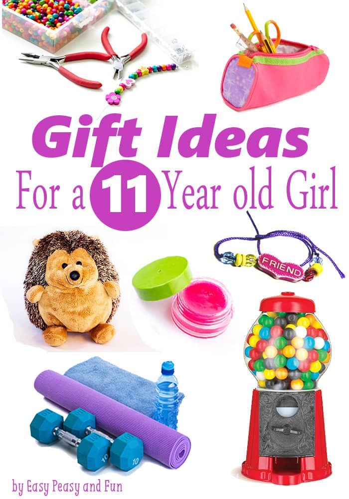 Best Gifts for a 12 Year Old Girl - Lots of fun gift ideas - Best Gifts For A 11 Year Old Girl - Easy Peasy And Fun