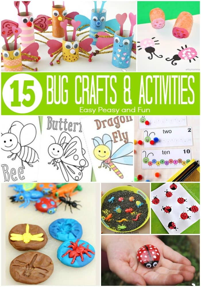 Bug Crafts and Activities