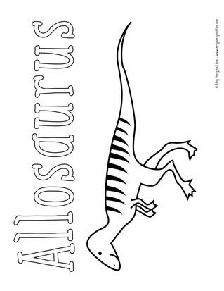 dinosaur coloring pages easy peasy