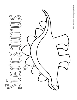 photograph about Printable Dinosaur Coloring Pages identified as Dinosaur Coloring Web pages - Basic Peasy and Exciting