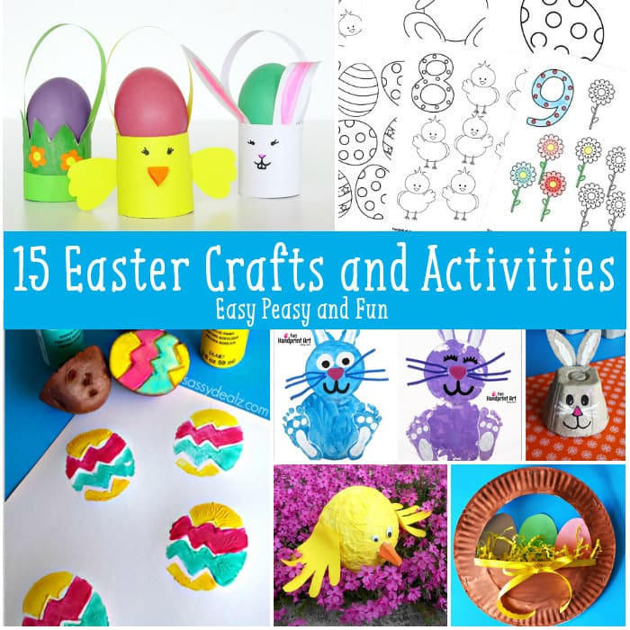 15 Must Do Easter Crafts And Activities For Kids