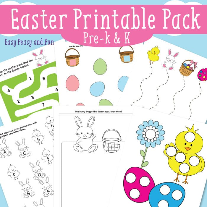 graphic regarding Easter Printable identify Easter Printables for Youngsters - Very simple Peasy and Entertaining