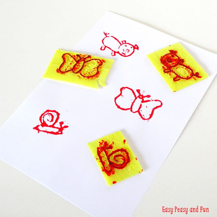 Kid Drawings to DIY Stamps