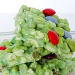 St. Patrick's Day Puffed Wheat Krispie Treats