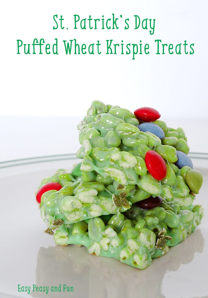 Puffed What Krispie Treats