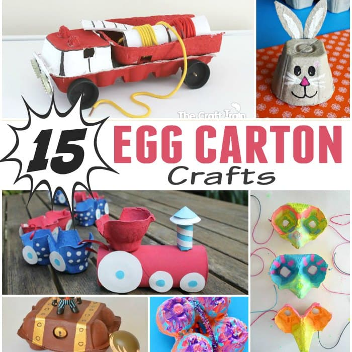 Egg Carton Crafts Easy Peasy Fun