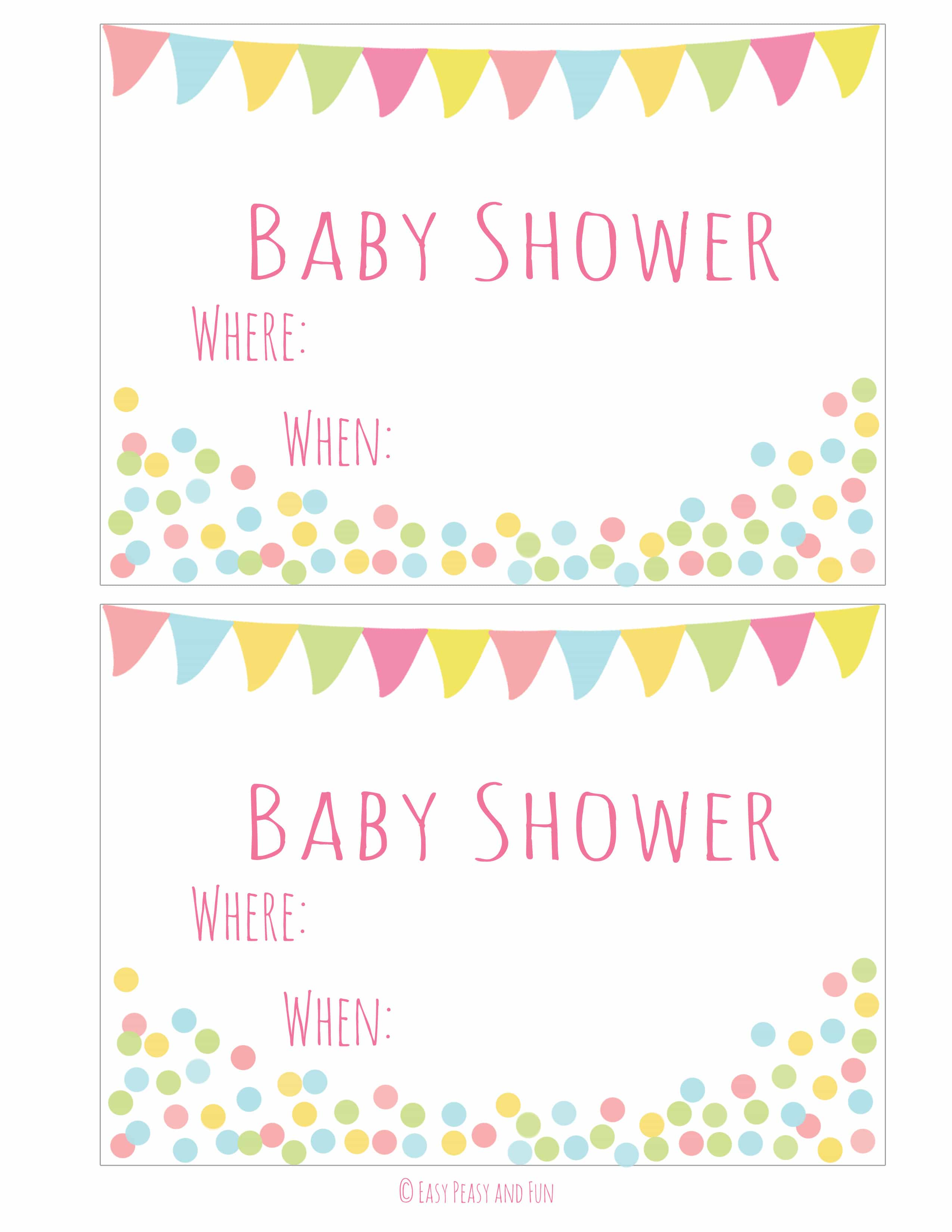 e5fc9ff26770 Free Printable Baby Shower Invitation - Easy Peasy and Fun