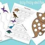 Dinosaur Printables for Preschool