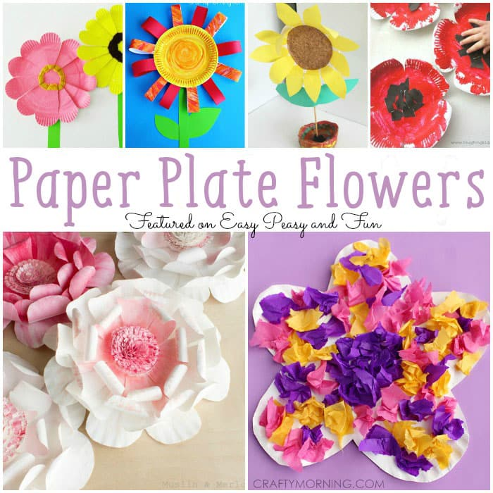 Paper Plate Flowers  sc 1 st  Easy Peasy and Fun & Paper Plate Flowers - Easy Peasy and Fun