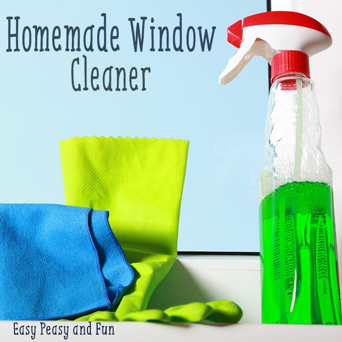 Homemade Window Cleaner