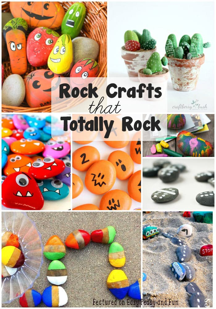Rock Crafts that Rock - Kid Craft Ideas