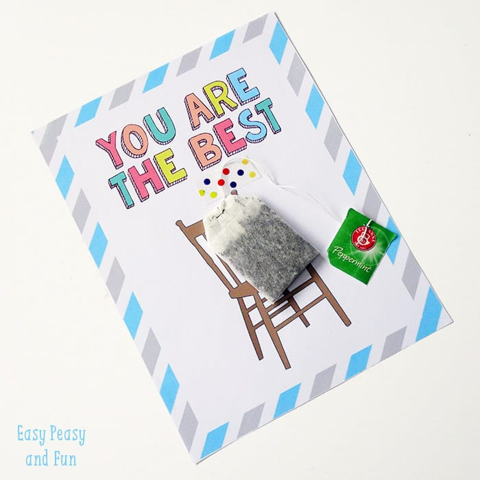 teacher appreciation card easy peasy and fun