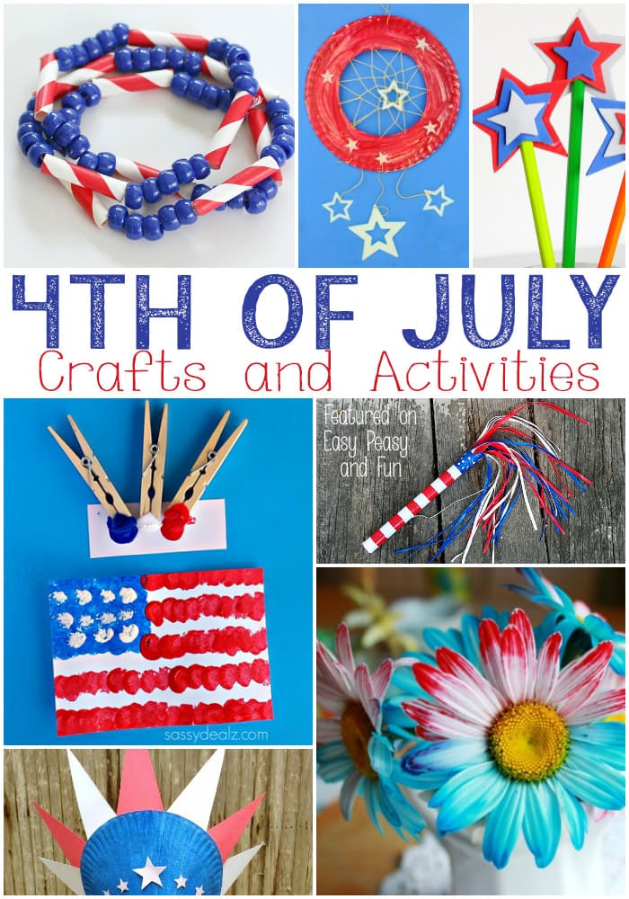 Th of july crafts for kids easy peasy and fun