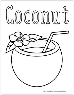 Summer Coloring Pages Free Printable