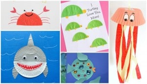 ocean animals crafts Archives - Easy Peasy and Fun