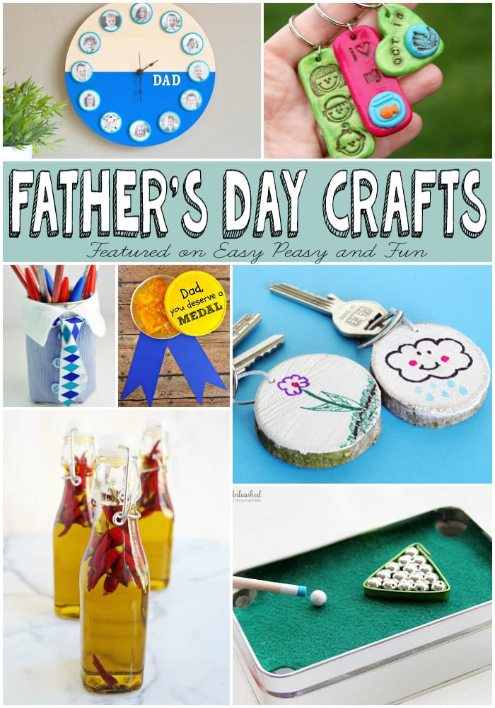 Fathers Day Gifts Kids Can Make - Easy Peasy and Fun