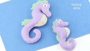 Felt Seahorse Tutorial {With Template}