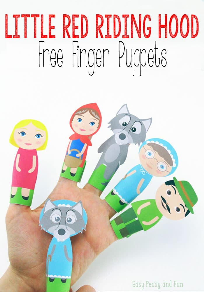 Finger Puppets Craft Preschool