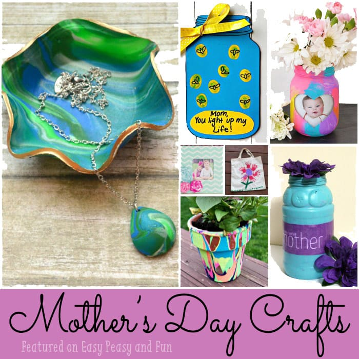 mothers day crafts for kids easy peasy and fun
