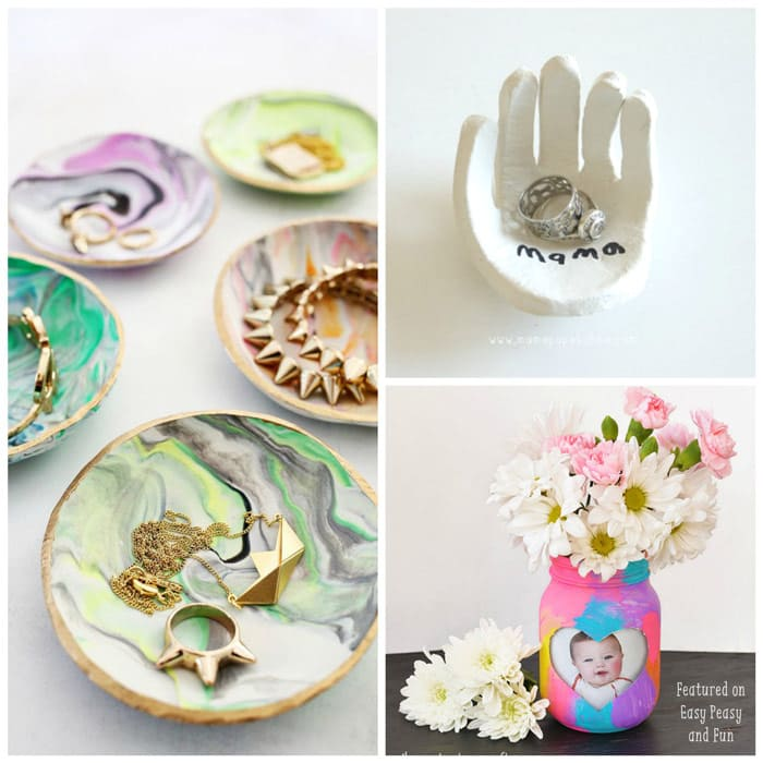 Mothers Day Craft Ideas Kids Part - 24: Motheru0027s Day Keepsake Gifts Kids Can Make