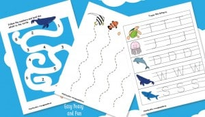 Ocean Animals Printables For Kids