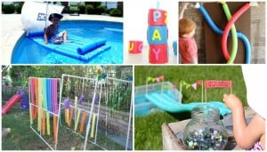 Totally Awesome Pool Noodle Activities