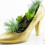 Shoe Flower Pot – Shoe Crafts