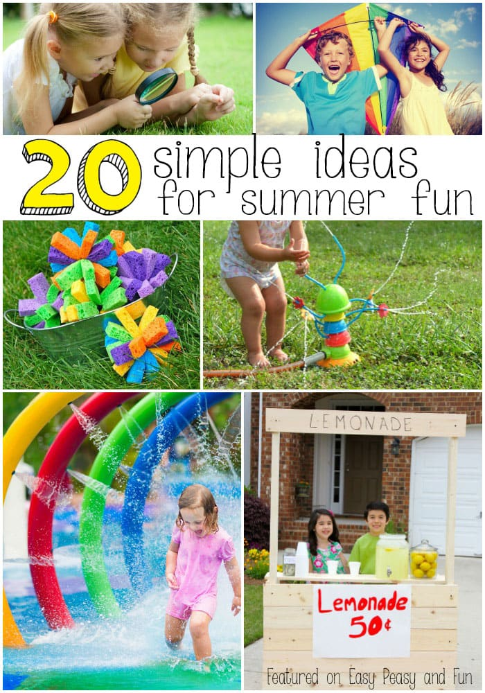 summer activities for kids 20 summer activities for easy peasy and 5502