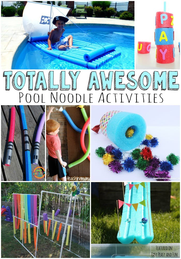 Totally Awesome Pool Noodle Activities, Crafts and Ideas for Kids