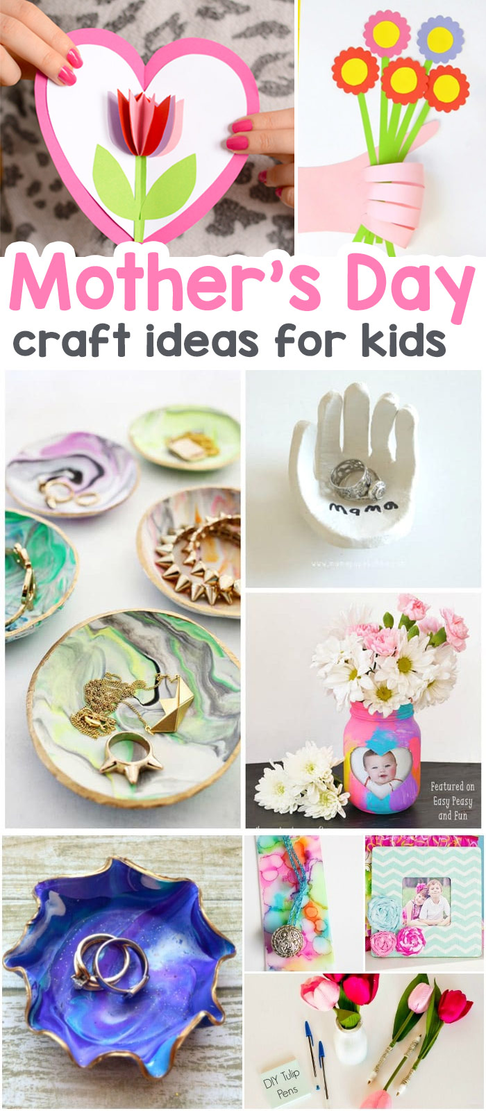 wonderful mothers day crafts for kids the best ideas for cards keepsakes and art