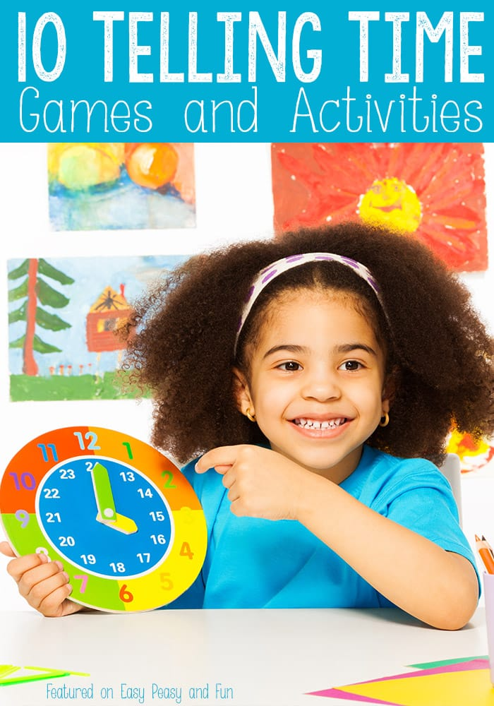 10 Telling Time Games and Activities