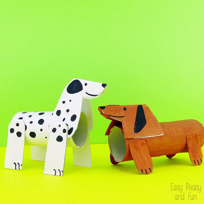 Dog Toilet Paper Roll Craft