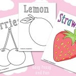 Fruit Coloring Pages – Free Printable