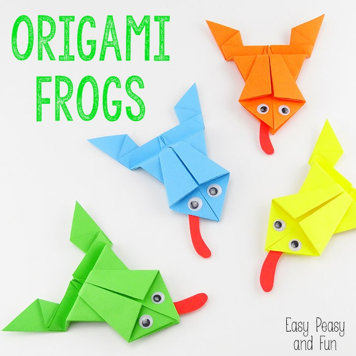 ORIGAMI FROG (Traditional model) - YouTube | 700x700