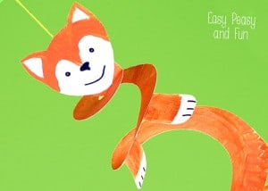 Paper Plate Fox – Crafts for Kids