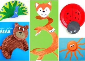 Adorable Paper Plate Animal Crafts
