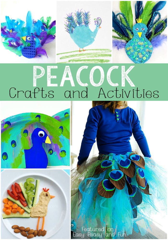 Peacock Crafts and Activities for Kids