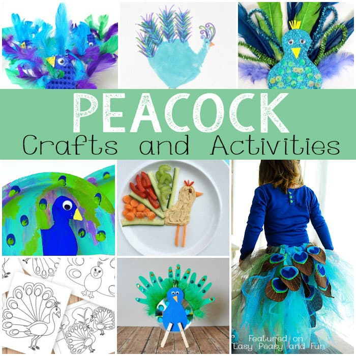 Peacock Crafts and Activities