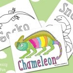 Reptile Coloring Pages – Free Printable