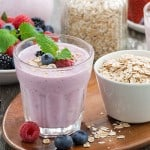 Wild Berry Breakfast Smoothie Recipe