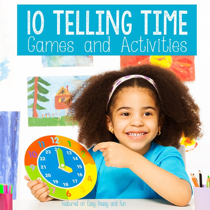 Telling Time Games and Activities for Kids